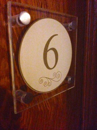La Villa De Mazamet: Room number