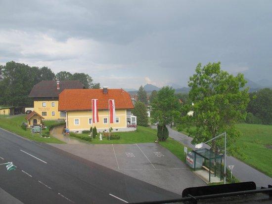Hotel Berggasthof Schwaighofwirt: Vista da janela