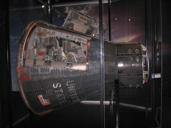 Adler Planetarium: Gemini Space Capsule