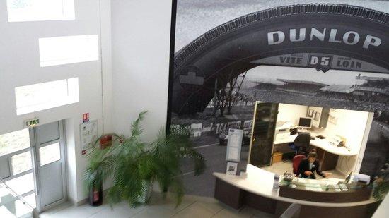 Kyriad Le Mans Sud - Mulsanne : Hall d entree