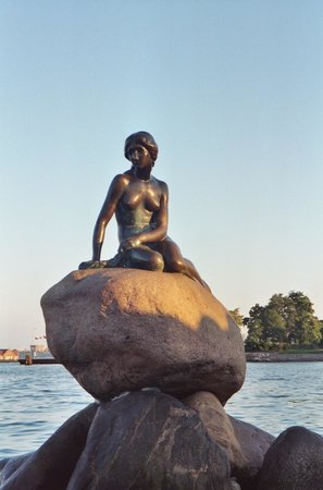 The Little Mermaid (Den Lille Havfrue): Little Mermaid at Sunset