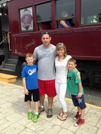 Hobo Railroad: Great family day!!!