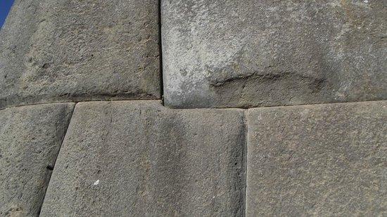 Sacsayhuamán: Disposição dos blocos de pedra - Sacsayhuaman