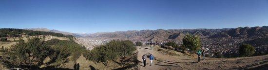 Sacsayhuamán: Vista de Cusco de Sacsayhuaman