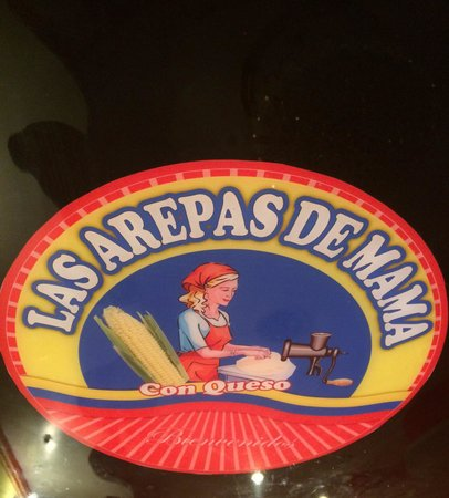 Las Arepas De Mama: This is the logo/name of restaurant