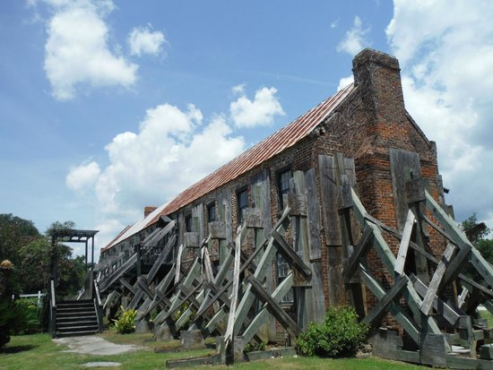 Boone Hall Plantation : Cotton gin building