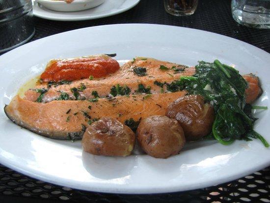 Cafe Genevieve: salmon
