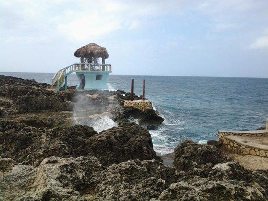 Negril Escape Resort & Spa: Шторм