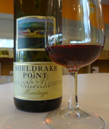 Sheldrake Point Winery: Sipping at Sheldrake