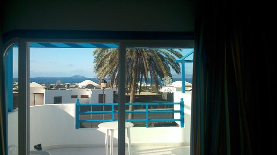 Aparthotel Paradise Island: vista preciosa