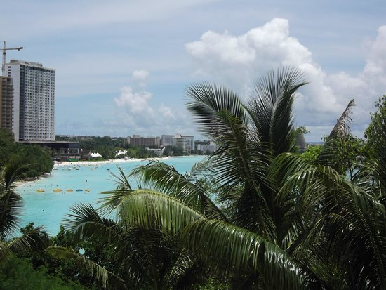 Lotte Hotel Guam: View from the pool