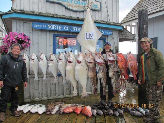 Fishology Alaska : Our Combo harvest!