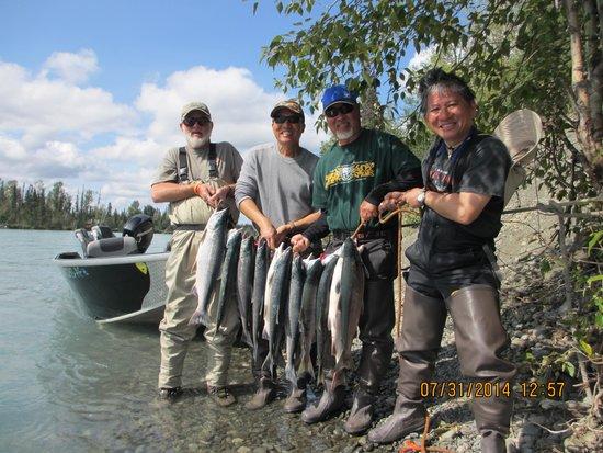 Fishology Alaska : Some nice Reds!