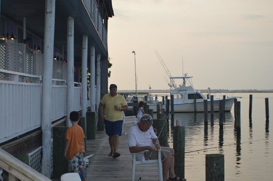 Apalachicola River Inn : View from the Dock. Great for fishing with kids