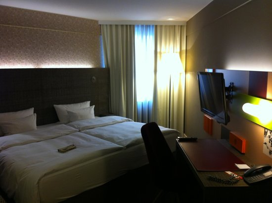 pentahotel Vienna: Habitacion