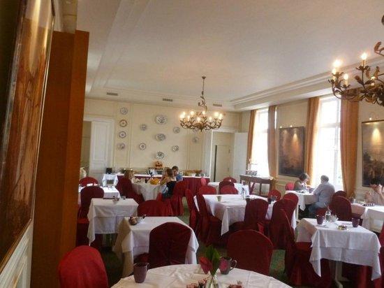 Hotel de La Petite Verrerie: Salle du petit déjeuner