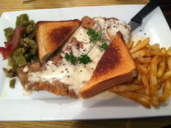 JD's Seafood Restaurant: Chicken Fried Steak