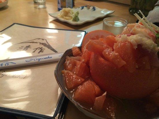 Kiyosaku: This is the grapefruit special