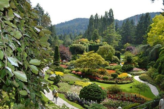 Butchart Gardens: The Sunken Garden