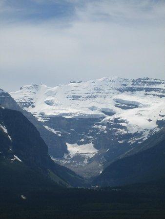 Lake Louise Sightseeing Gondola: Great View of Victoria Glacier