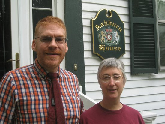 Steve and Karen at Ashburn House.