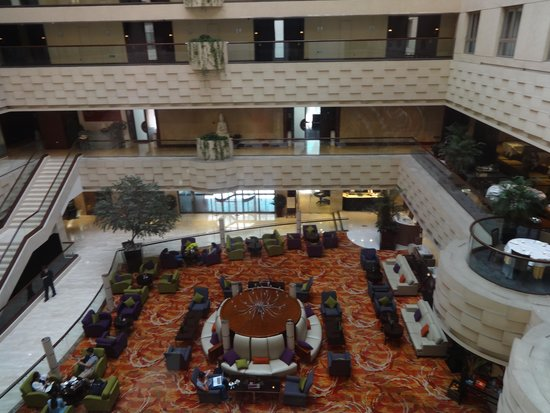 Crowne Plaza Beijing Wangfujing : parte interna do hotel