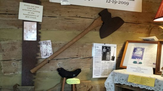 Cades Cove Museum : Axe