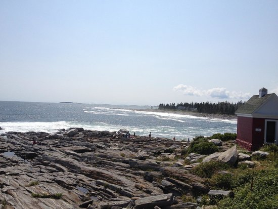 Pemaquid Point Lighthouse: View of Pemaquid Point