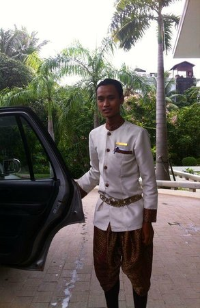 Borei Angkor Resort & Spa : Wonderfull staff, thanks to Vibol