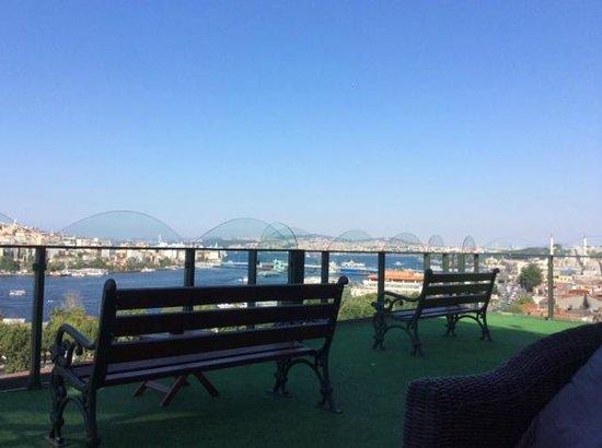 Hayriye Hanim Konagi Hotel: vue de la terrasse