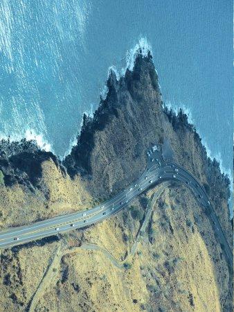 Lahaina Harbor : Shoeline Highway to Lahaina from Kihei  Alden Cornell Hawaii