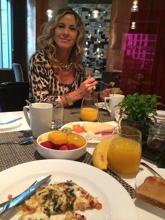 The Ritz-Carlton, Santiago: desayuno