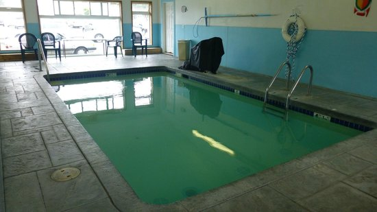 City Center Motel: Indoor Pool Area