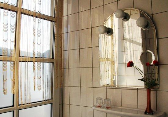 Rheinhotel St. Goar: Bathroom of Room 2