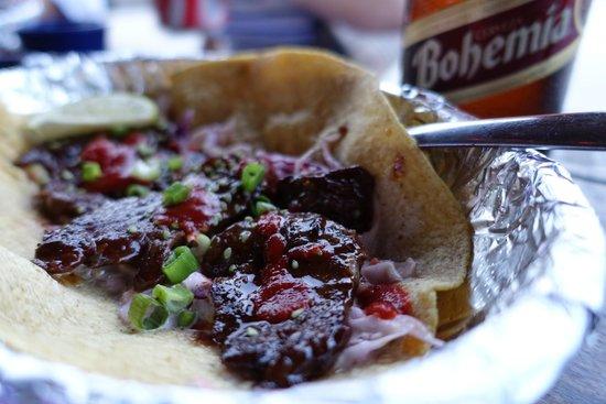 Blue Gecko Cantina: Korean BBQ Taco