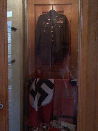 Miramont Castle Museum: Military Uniform with Swastika