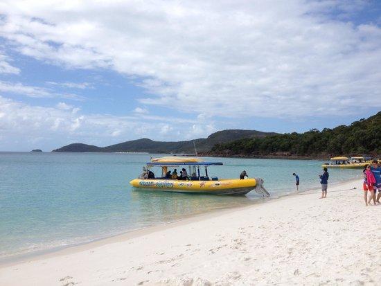 Ocean Rafting: Le bateau