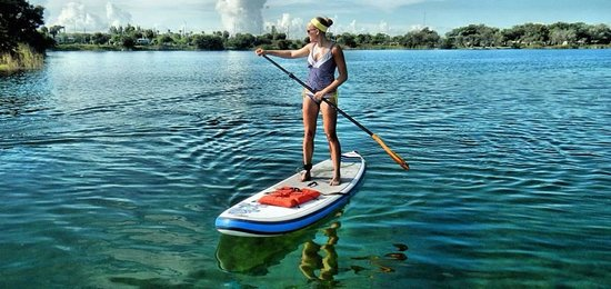 Walk On Water Fitness: SUP at TY park jn Hollywood
