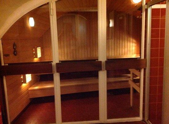 Lady Hamilton Hotel: Sauna