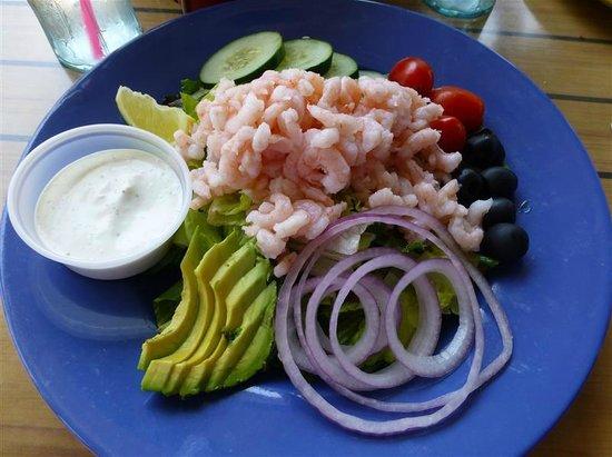 Island Cafe: Shrimp Salad