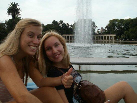 Parque Independencia: The fountain!