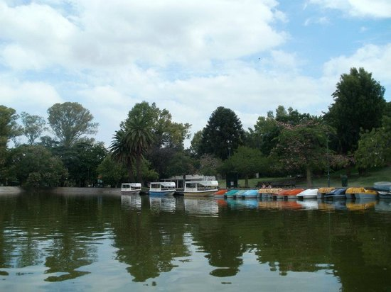 Parque Independencia: Cycling-boat-tour!