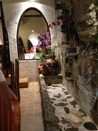 Restaurante Las Tinajas : An inside corner in the restaurant