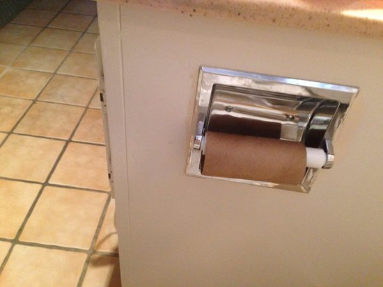 Alexis Park Resort: Checked in with an empty toilet paper roll... Bleh. Careless!