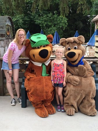 Yogi Bear's Jellystone Park Camp-Resort in Quarryville: Meeting Yogi and Boo Boo!