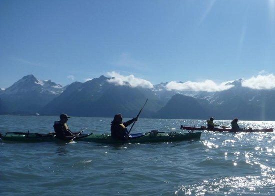 Kayak Adventures Worldwide: A beautiful afternoon --