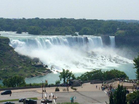 Sheraton on the Falls : Vue de la chambre au 7e