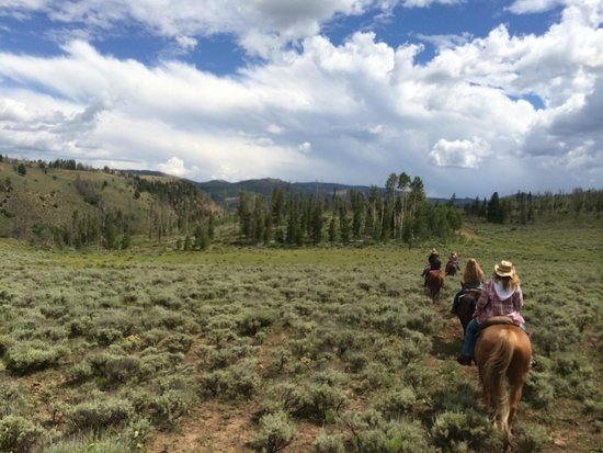 Drowsy Water Ranch: Riding the range
