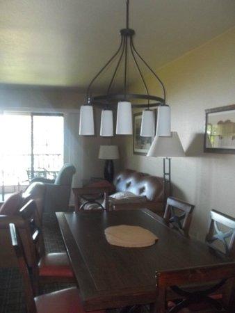 WorldMark Clear Lake: Living room