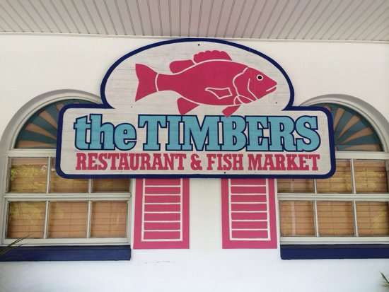 Timbers Restaurant and Fish Market: Sign